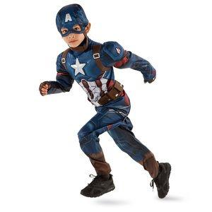 Disney Store Captain America Costume with Shield